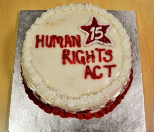 Human Rights Act Cake 1