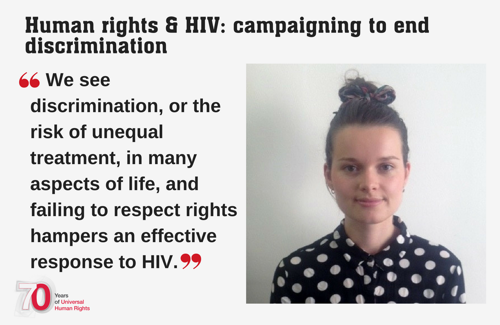 Human rights and HIV: campaigning to end discrimination