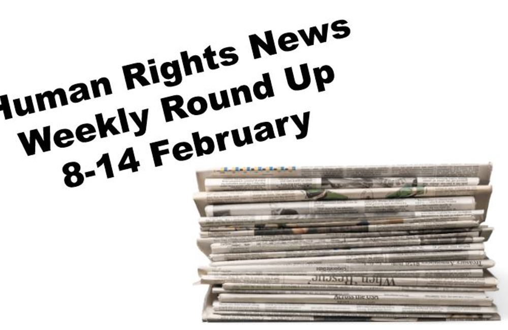 Human Rights Weekly News Round Up - 14