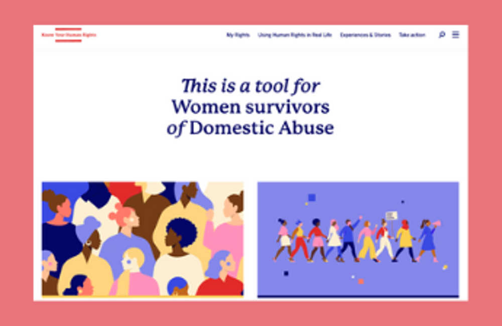 Launch: Know You Human Rights for Women Survivors of Domestic Abuse