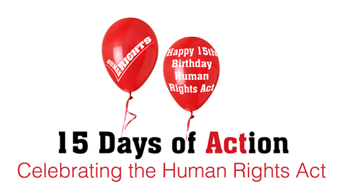 15 Days of Action on Social Media