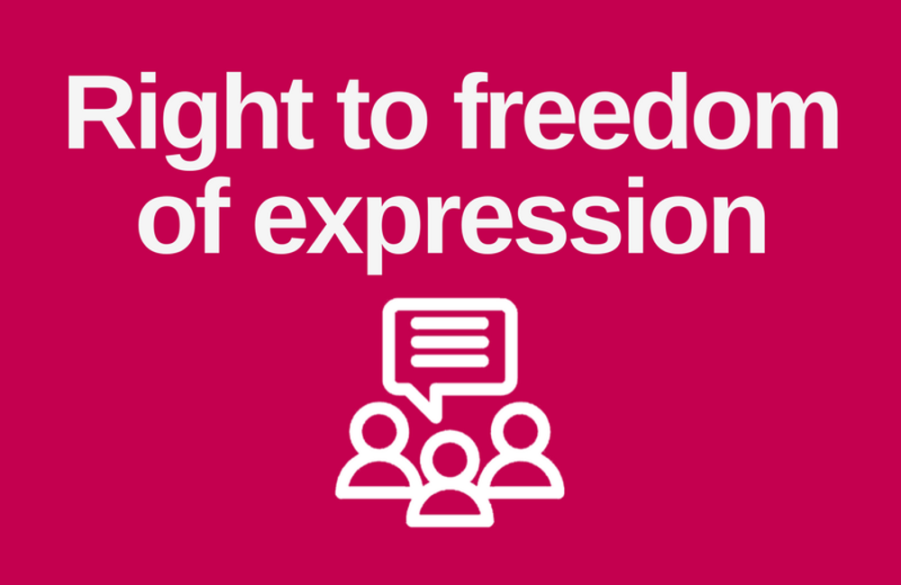 The Human Rights Act unwrapped: Right to freedom  of expression