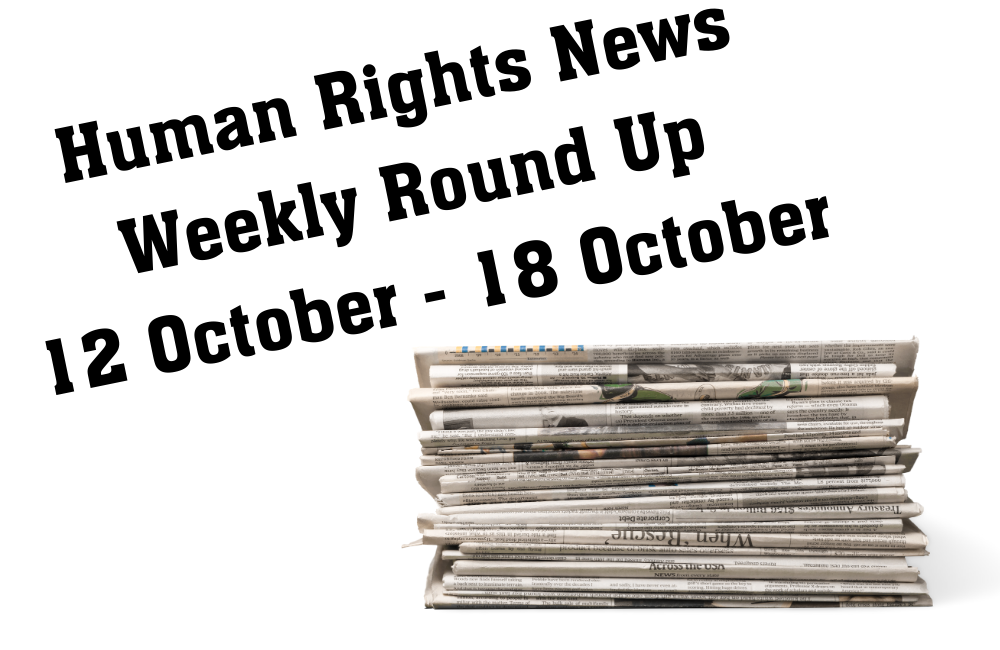 Weekly Human Rights News Round Up 3