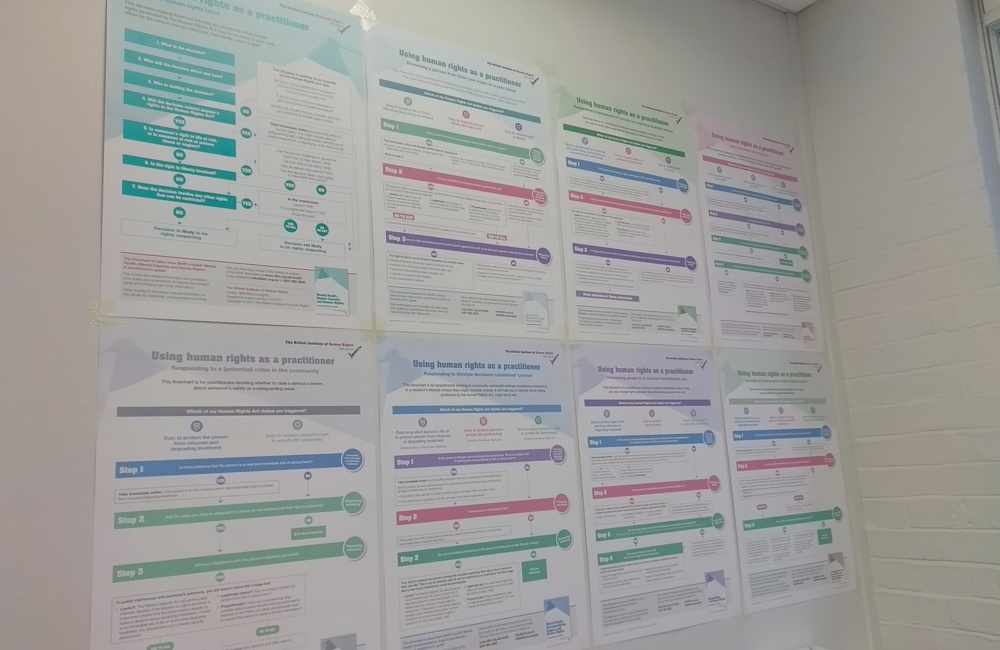 Posters for health and care practitioners