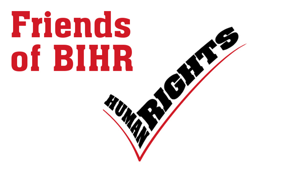 Become an Charity/Firm Friend of BIHR