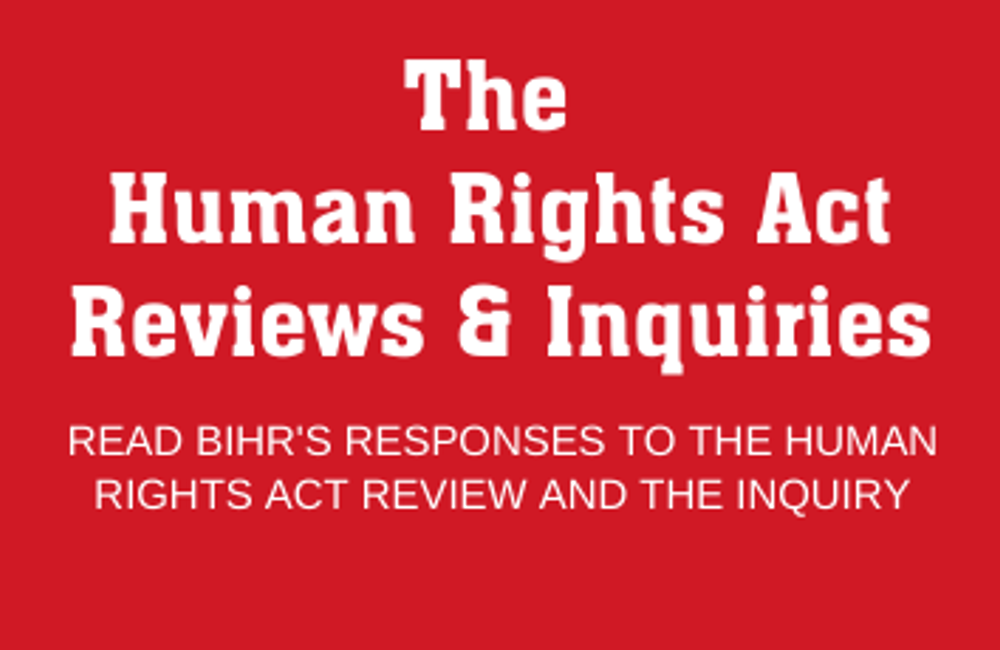 Our Response to the HRA Review