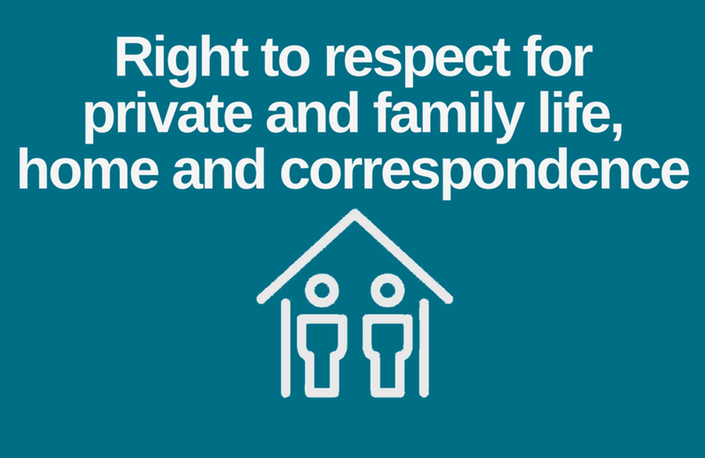 The Human Rights Act unwrapped: Right to respect for private and family life, home and correspondence