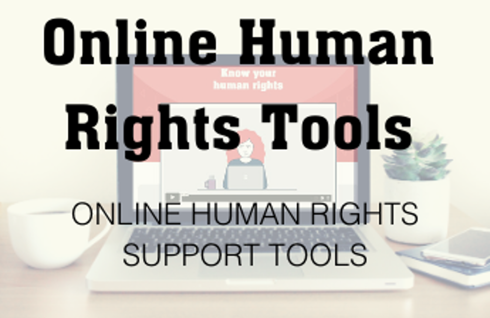 Online Human Rights Tools