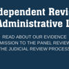 The Independent Review of Administrative Law
