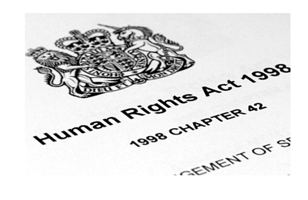"What are our ""human rights"" in the Human Rights Act?"