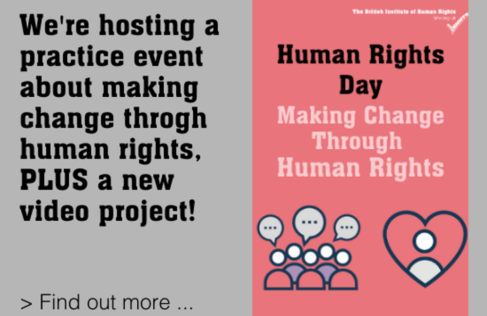 Human Rights Day 2020 - Celebrating Making Change Through Human Rights