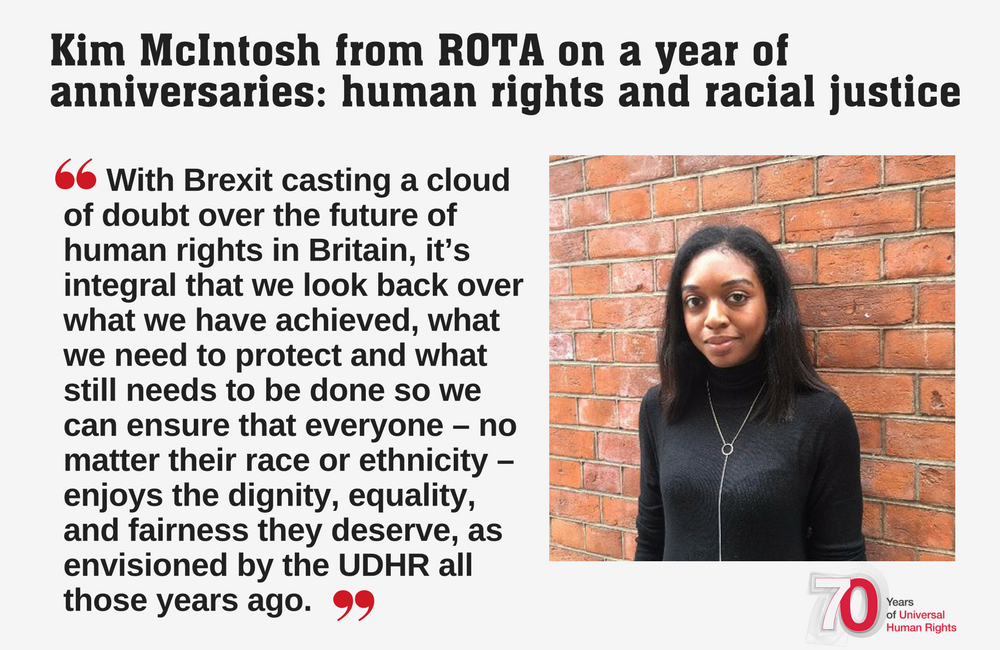 A year of anniversaries: human rights & racial justice