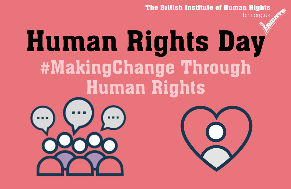 Human Rights Day 2020- Making Change Through Human Rights