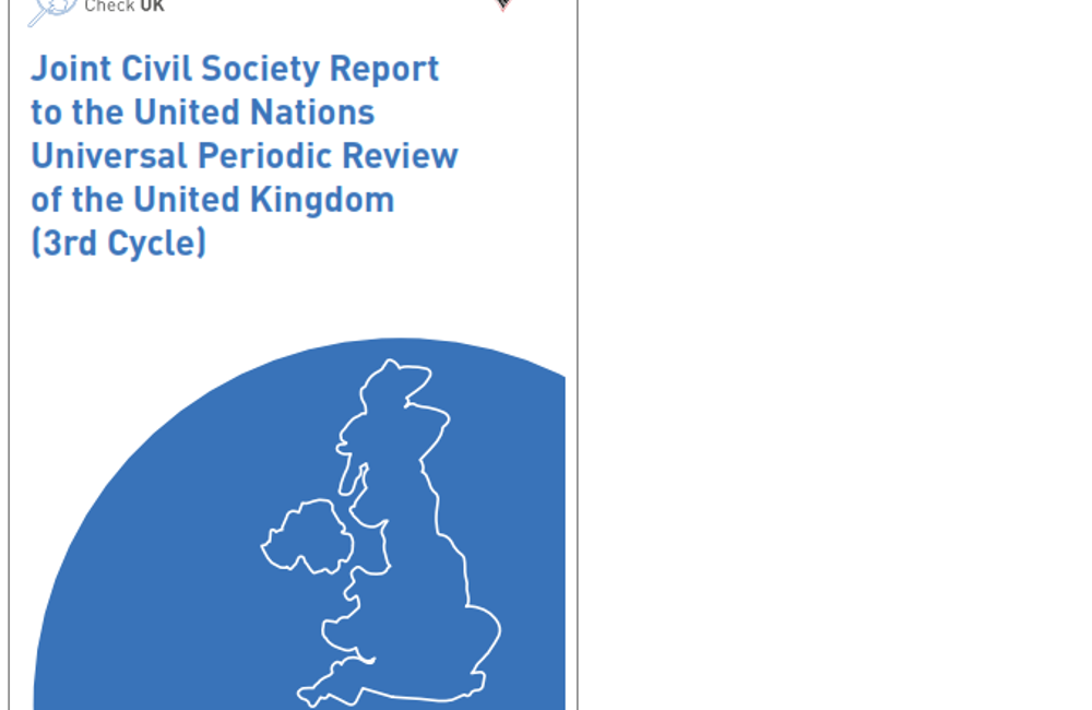 Human Rights Check: Report on the UK Government's human rights record released