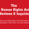 The Independent Human Rights Act Review and the Joint Committee on Human Rights Call for Evidence